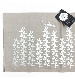 Bird with Leaves Towel