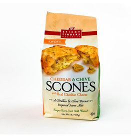 Sticky Fingers Bakeries Cheddar & Chive savory mix