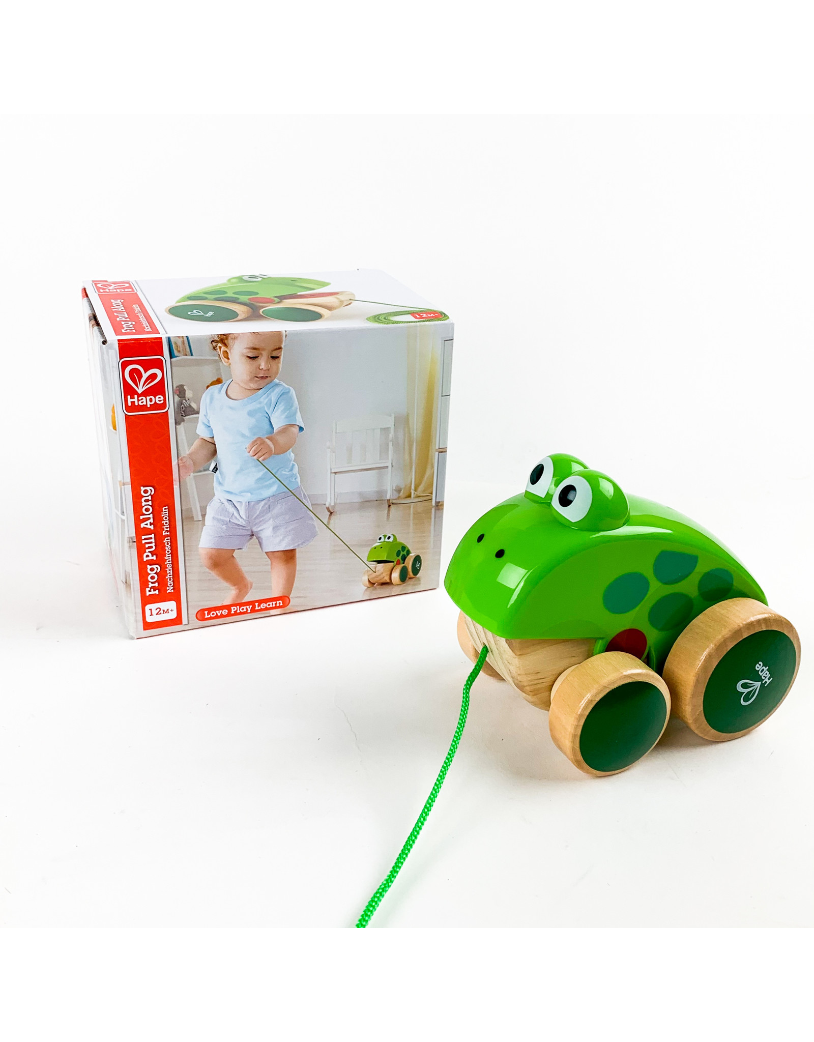 Hape Frog pull along