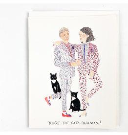 Red Cap Cards Cat's Pajamas Love