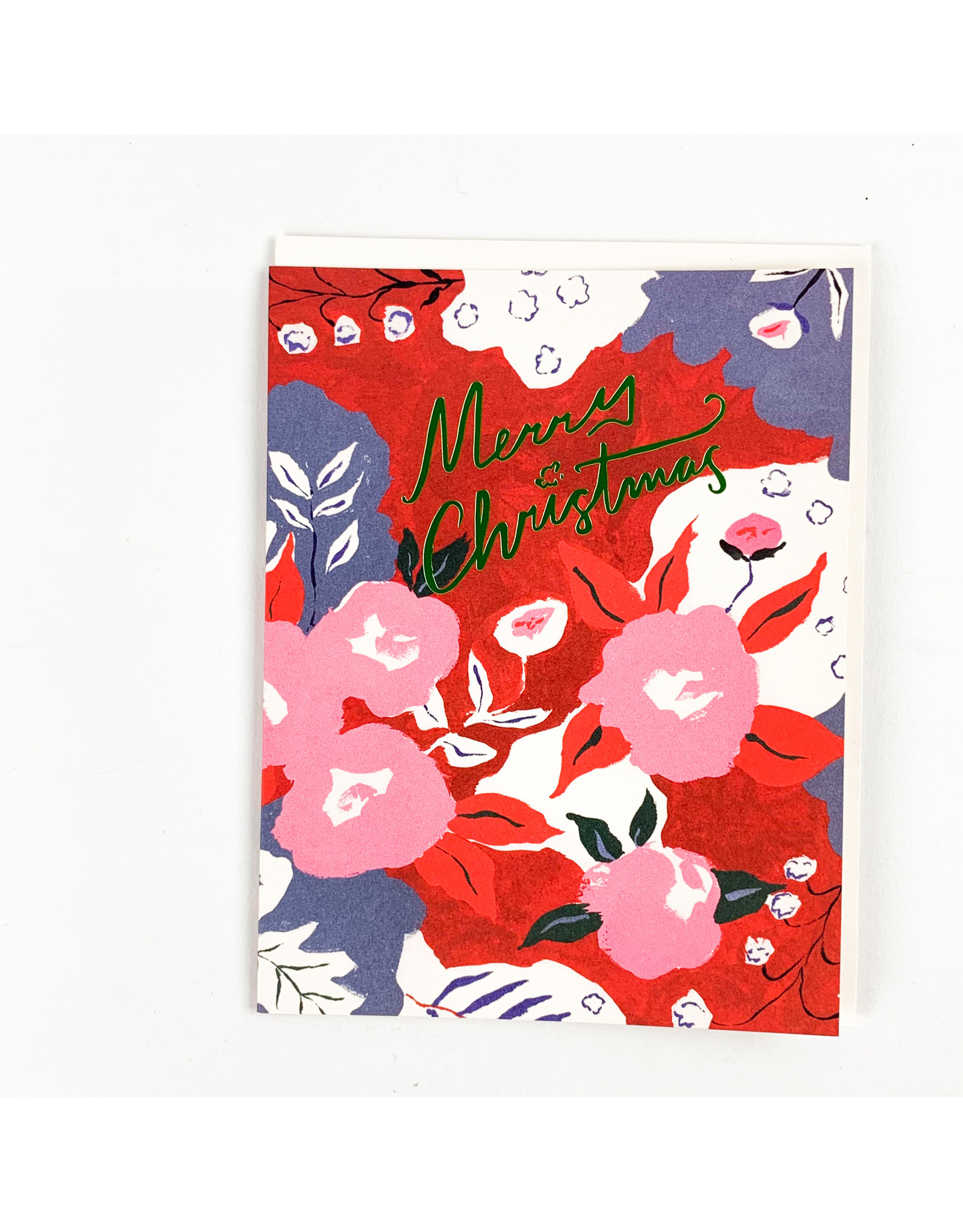 Red Cap Cards Ruby Red Flower Holiday