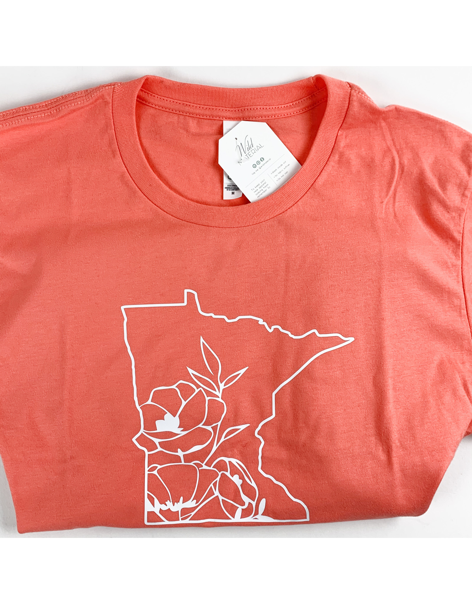 Wild Material Floral MN Tee Shirt