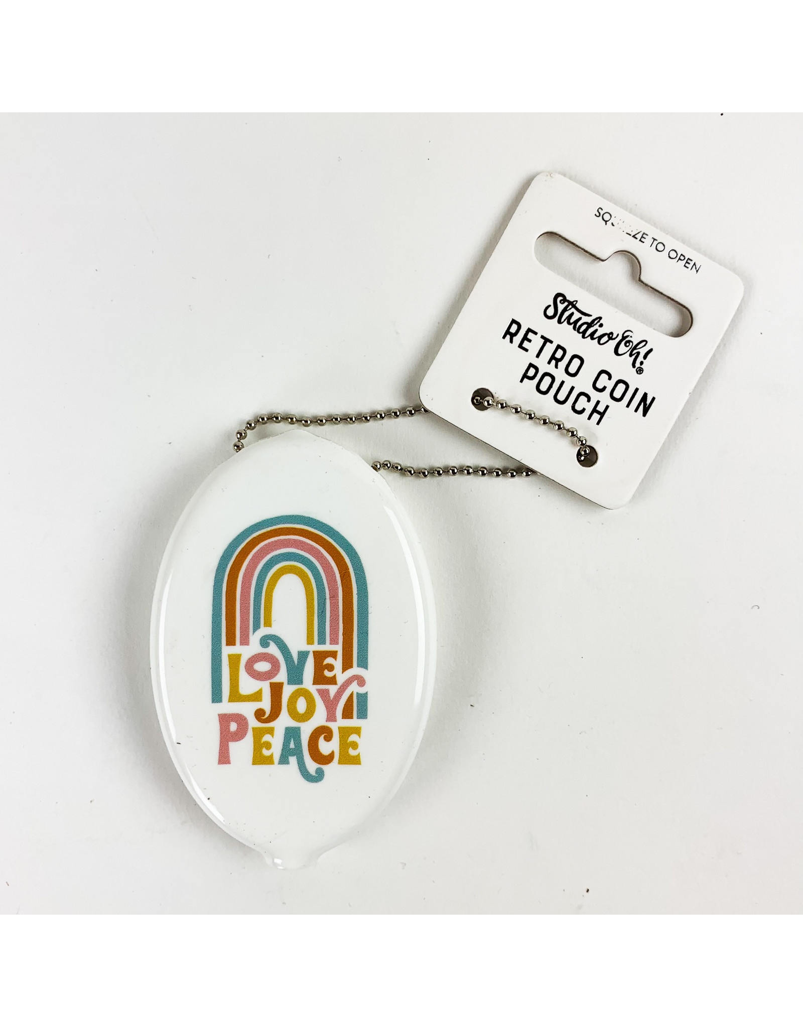 Studio Oh! Retro Coin Pouch Love Joy Peace