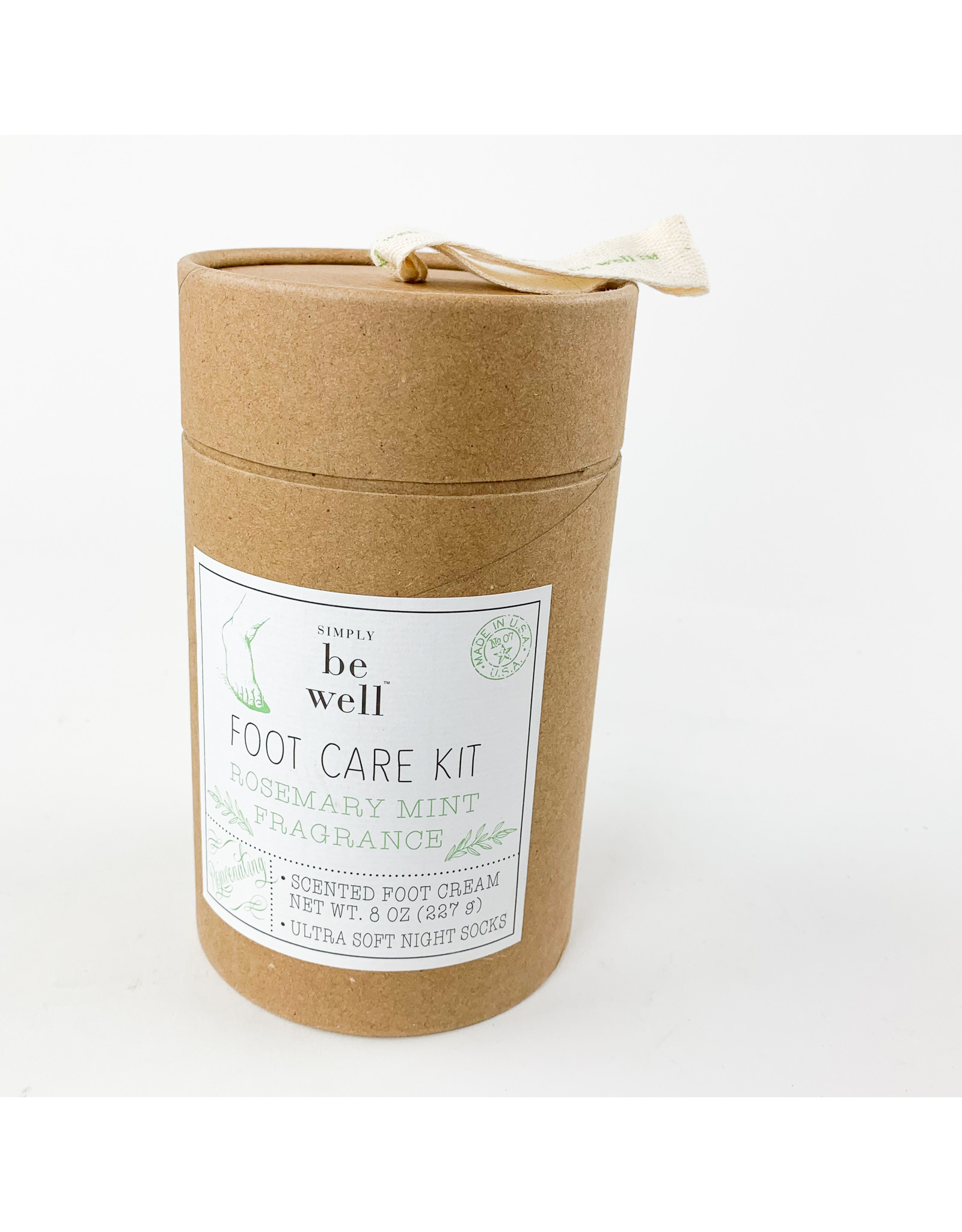 Be Well Rosemary Mint Foot Kit