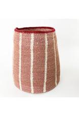 Creative Co-Op Seagrass Basket Dark