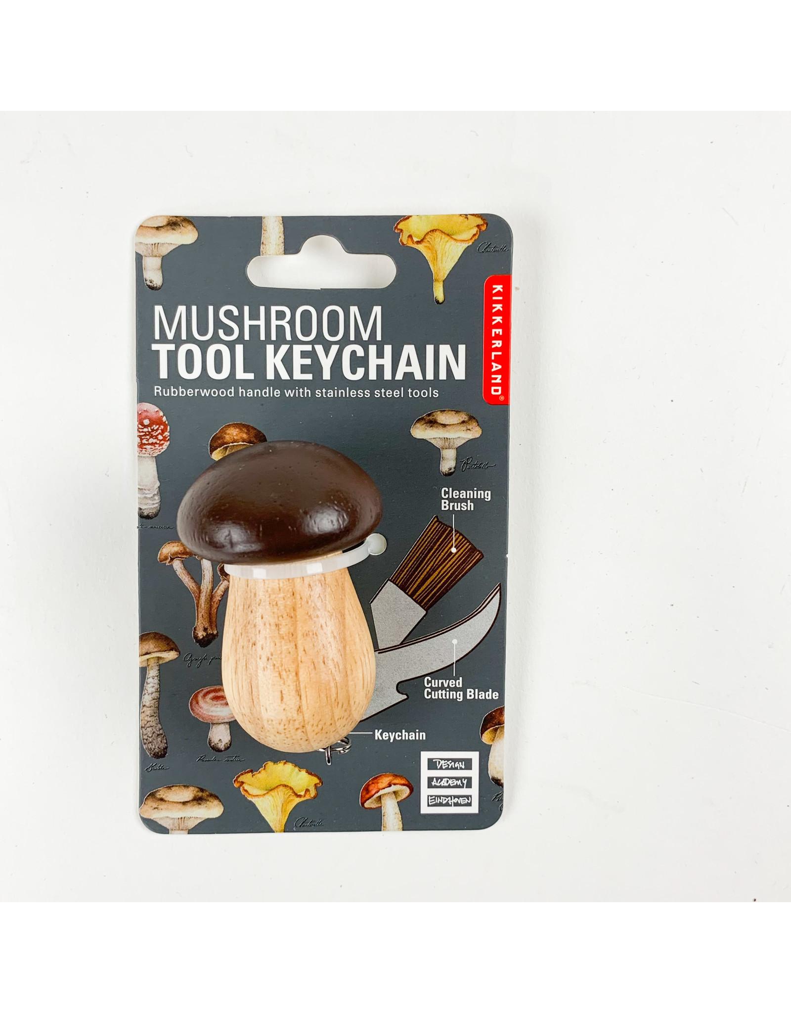 Kikkerland Mushroom Tool Keychain
