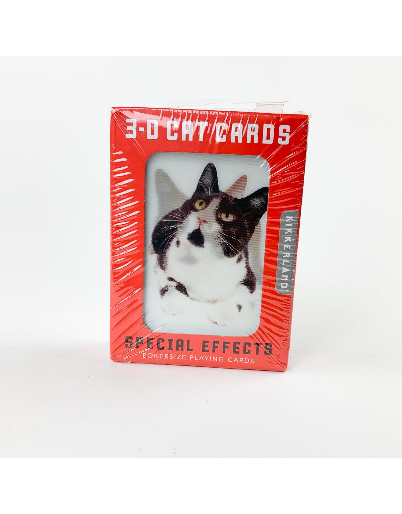 Kikkerland Cats 3-D cards