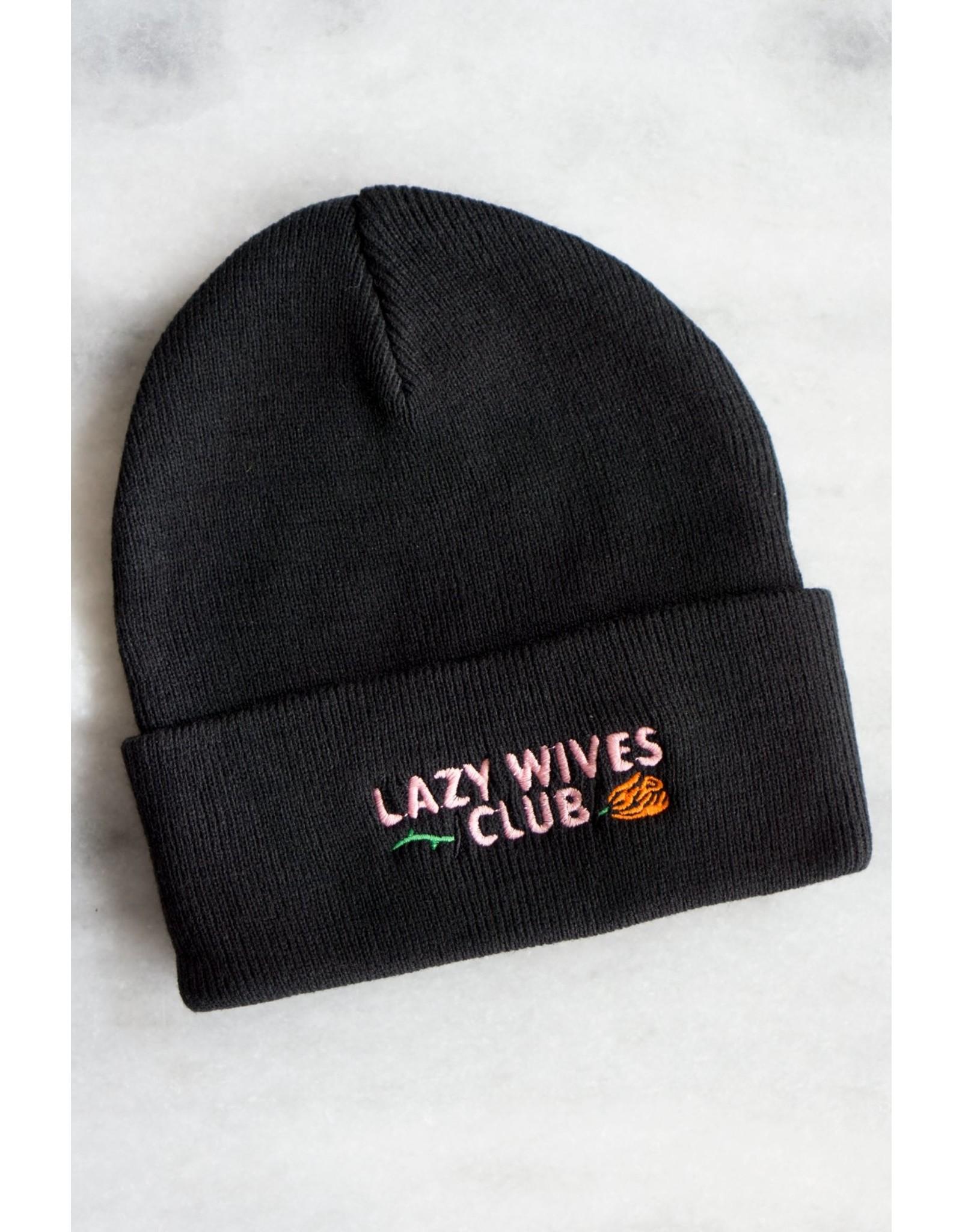 Stay Home Club Lazy Wives Club Beanie