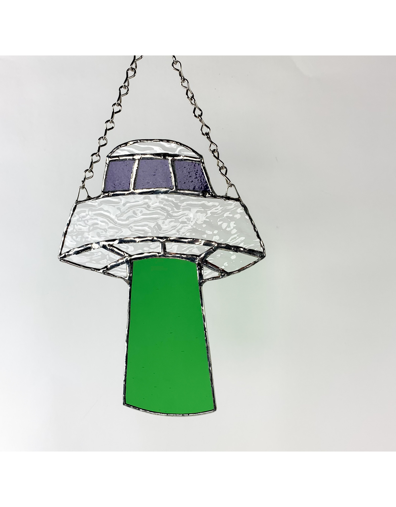 Reverberation Stained Glass - Consignment Large UFO - Consignment