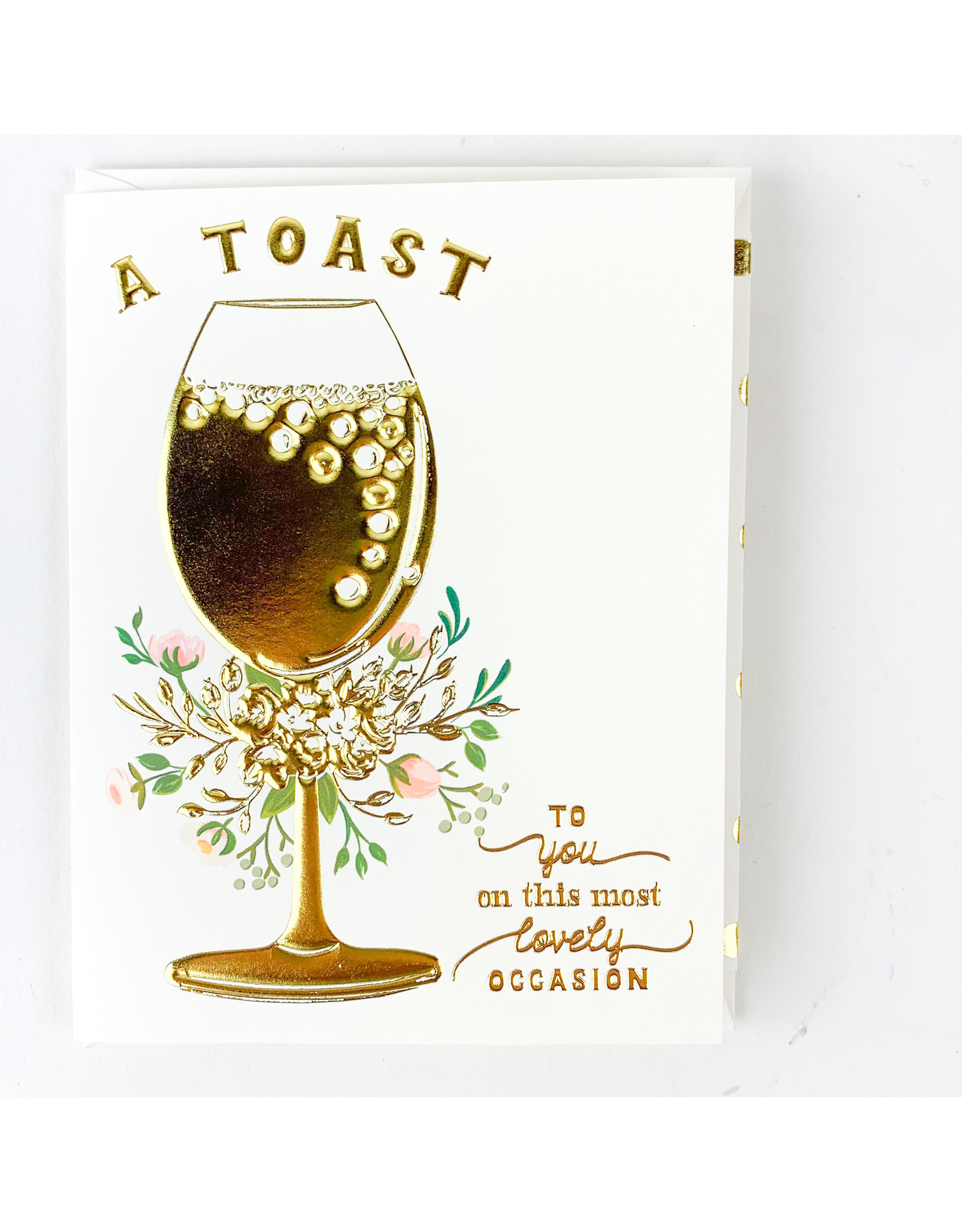 The First Snow A Toast to You