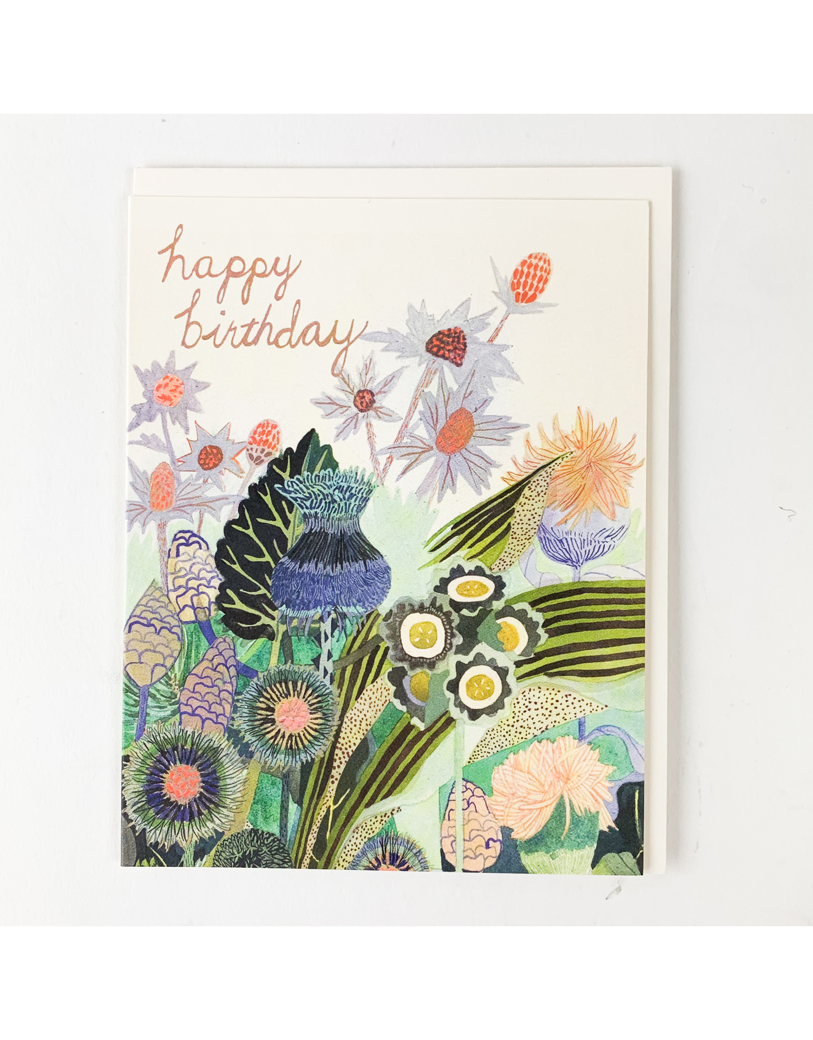 Red Cap Cards Thistle B.Day
