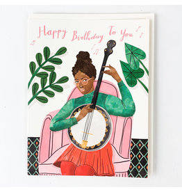 Red Cap Cards Banjo B.Day