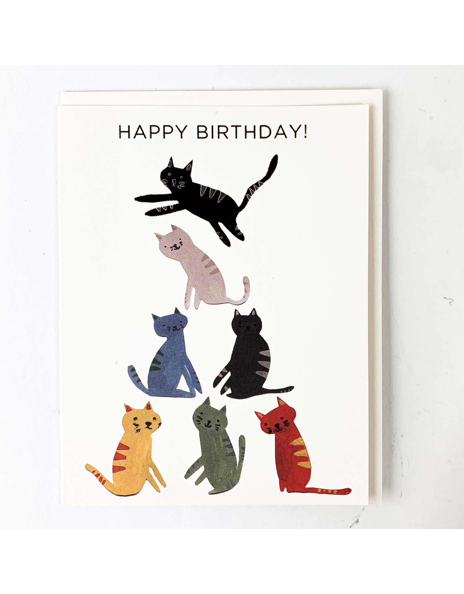Red Cap Cards Gold Kitty
