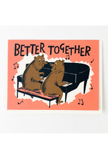 Red Cap Cards Better together bears