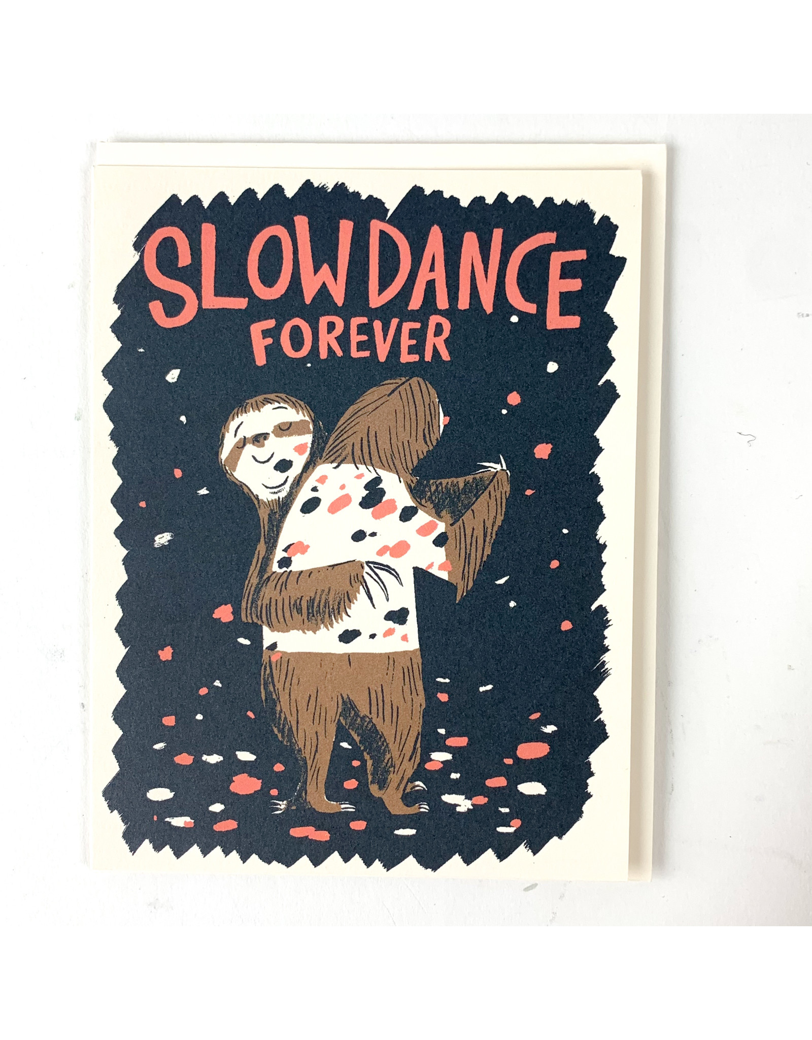 Red Cap Cards Slow Dance Sloths