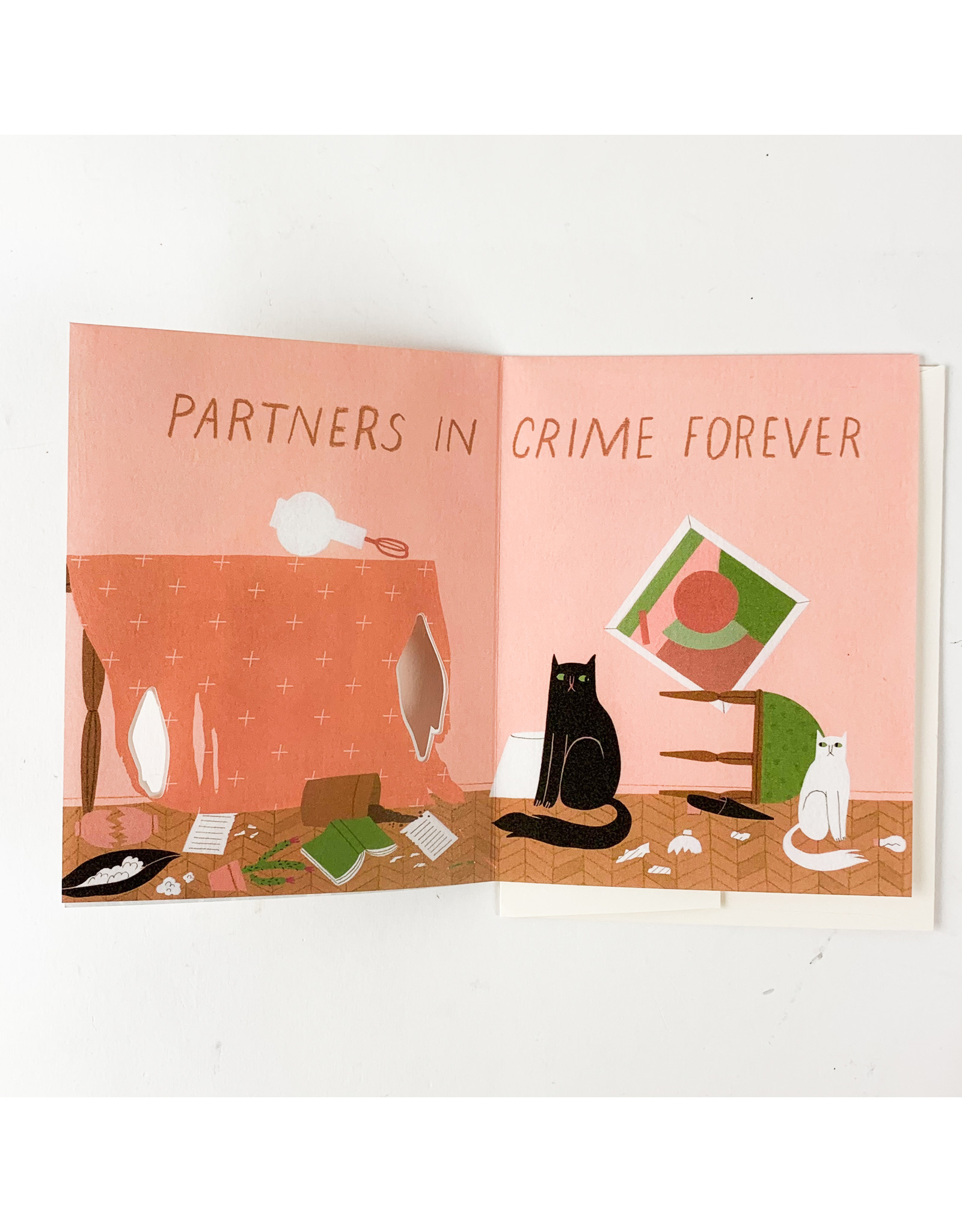 Red Cap Cards Partners in Crime