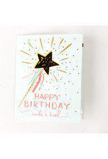 The First Snow Make A Wish Birthday Card