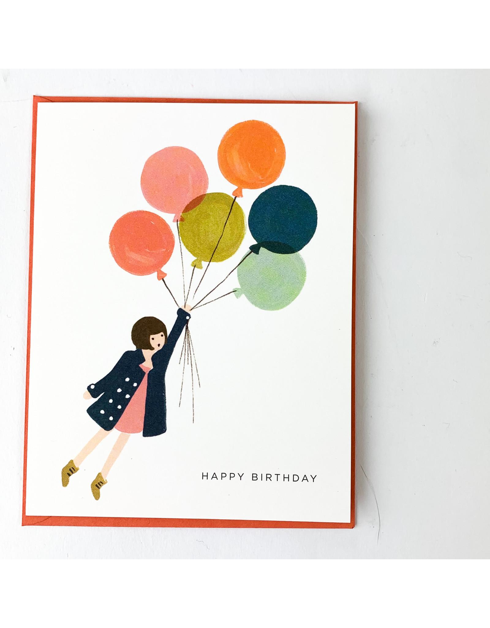 Rifle Fly Away Birthday Card