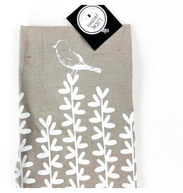 Local Produce  (not consignment) Bird with Leaves Tea Towel (not Consignment)
