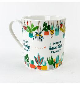 Ginger Fox Plant Addict Mug