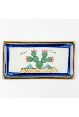 Tesoros Med Rectangle Dish Cactus