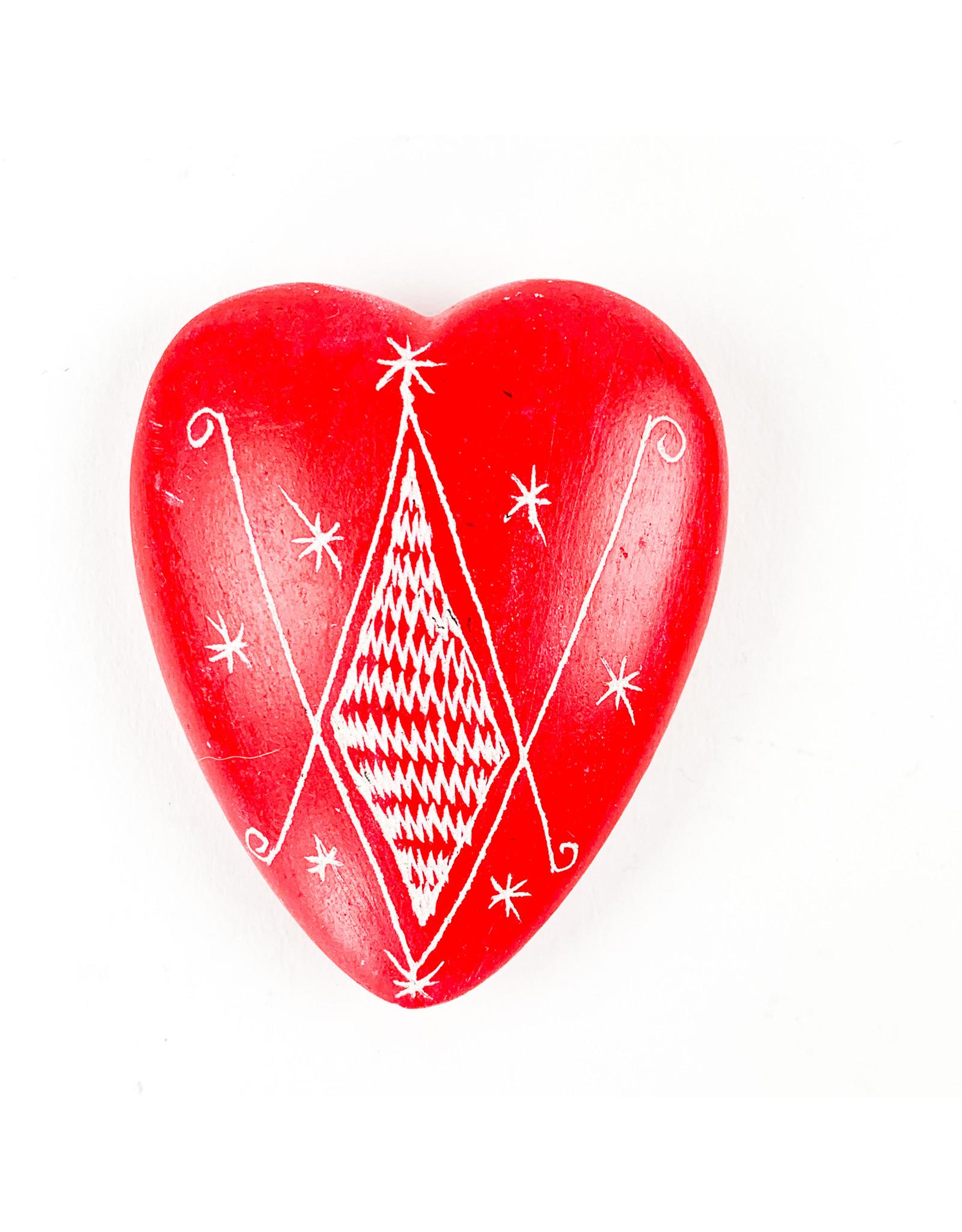 Tesoros Hand Carved Heart