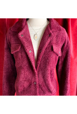 Mystree Burgundy Jacket