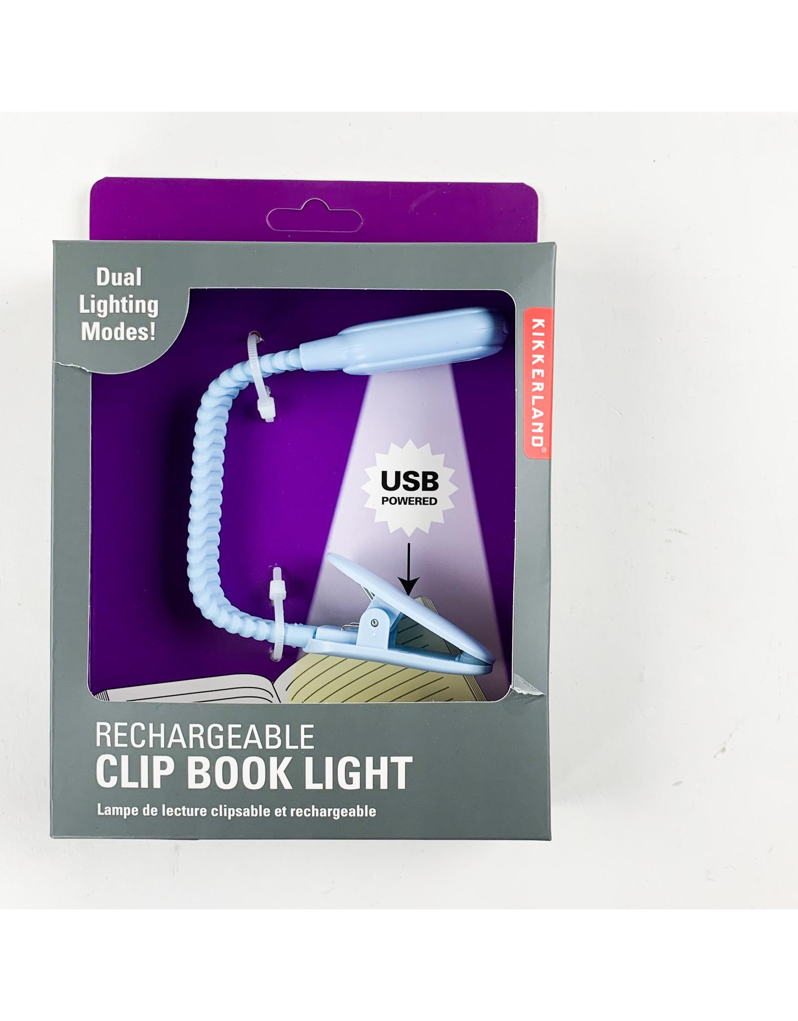 Kikkerland Rechargable Book Light
