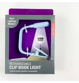Kikkerland Rechargable Book Light