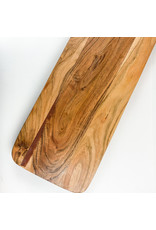 Creative Co-Op Acacia Wood Cutting Board w Handle