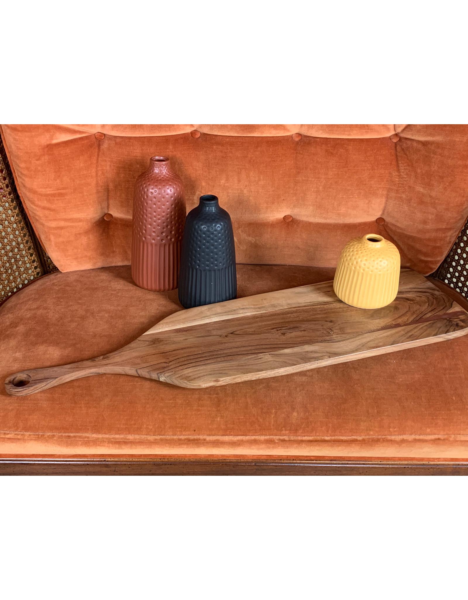 Acacia Wood Cutting Board W Handle Corazon