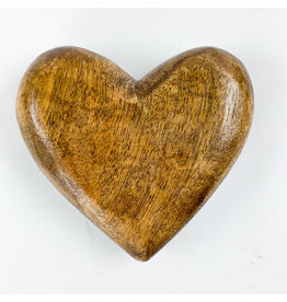 Creative Co-Op Mango Wood Heart