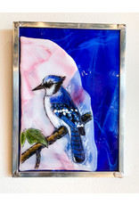 Peter Lewis-Consignment Glass Blue Jay - Consignment