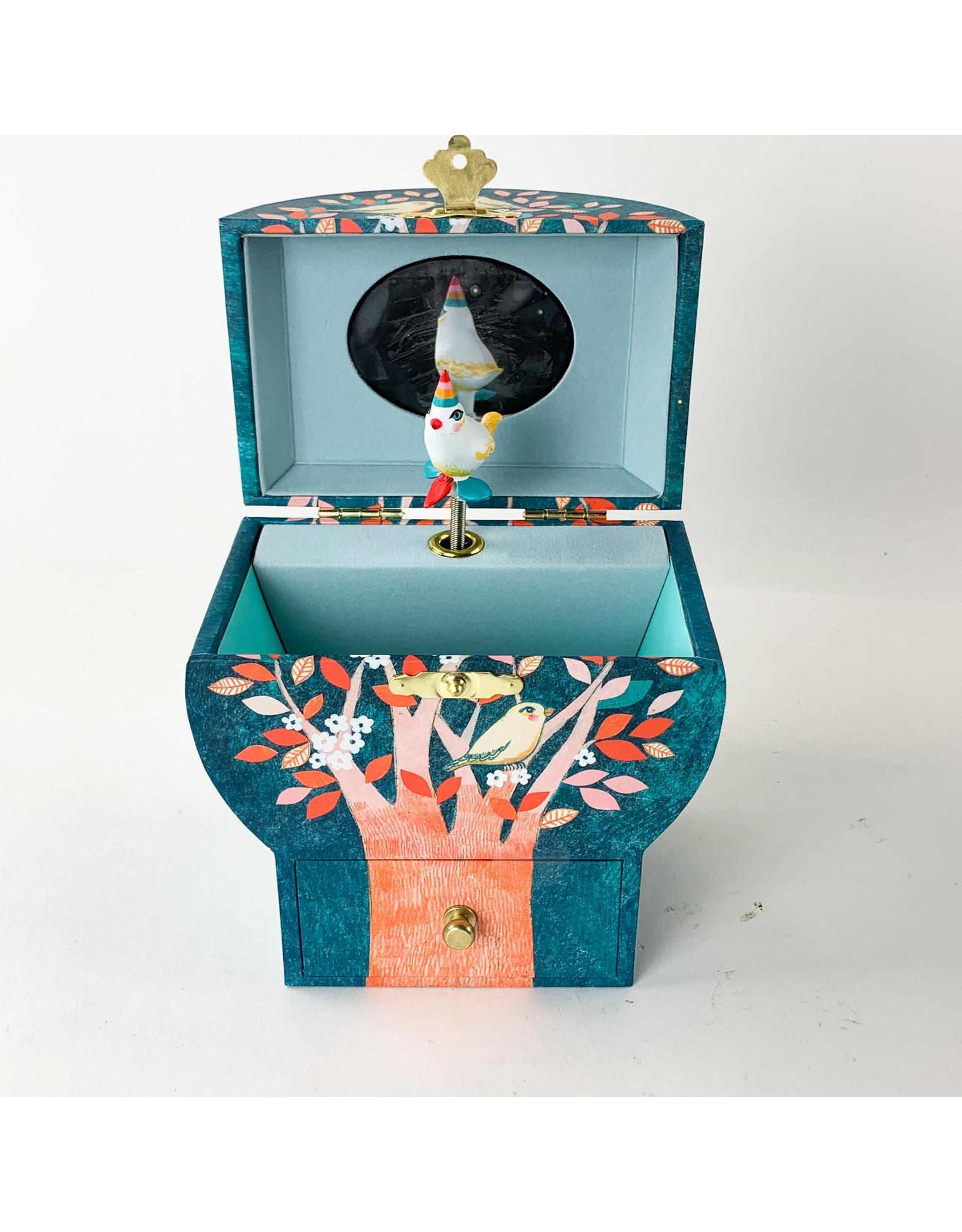 Djeco Night Singing treasure box