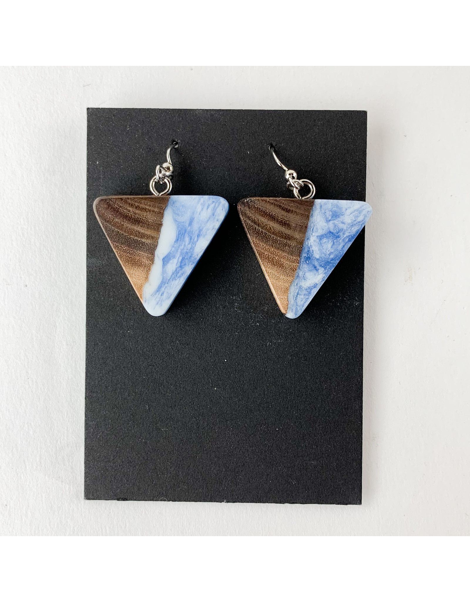 PM Design - Consignment Hooks Consignment Blue Triangles