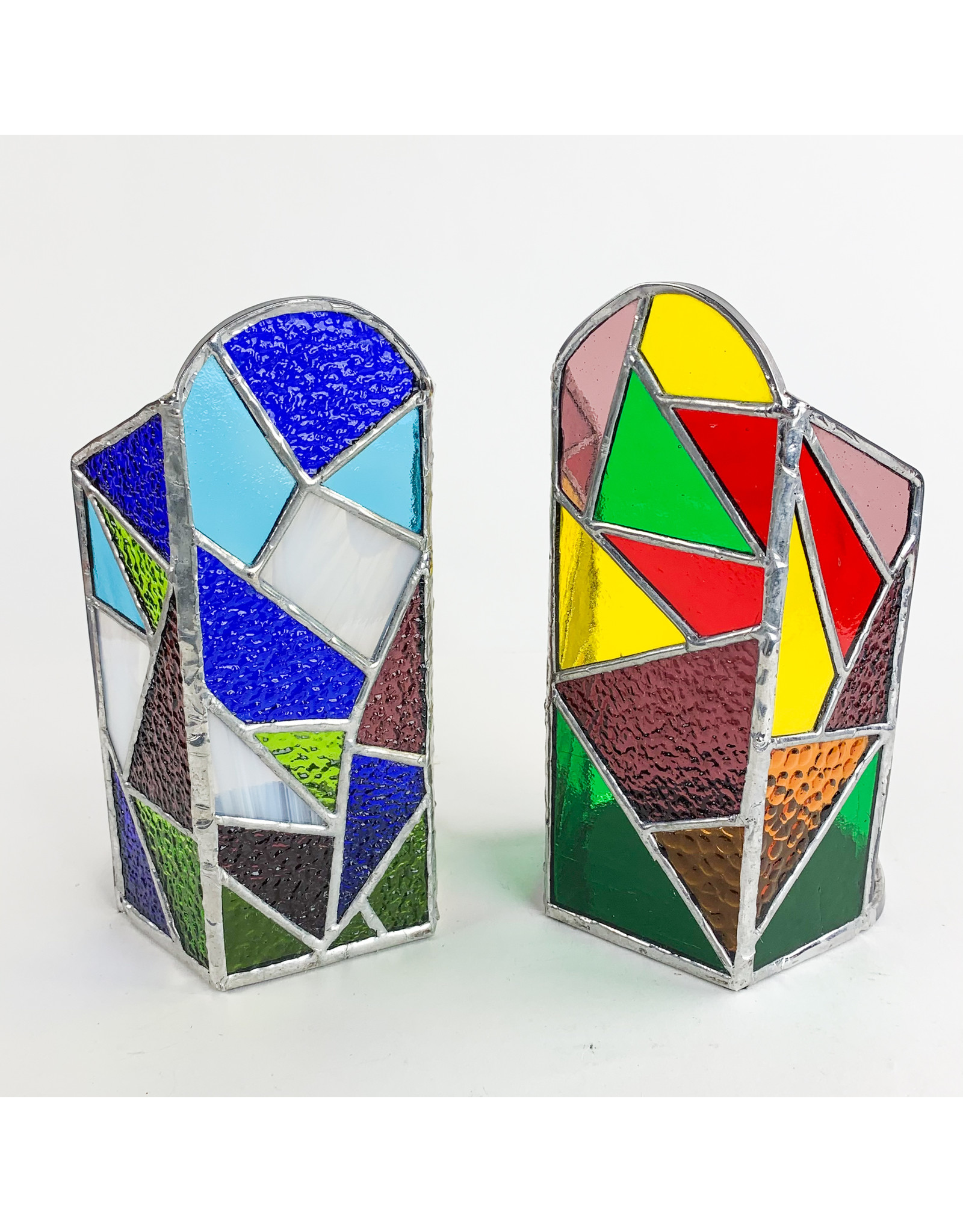 Reverberation Stained Glass - Consignment Candle Holder Cool Psych Consignment