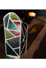 Reverberation Stained Glass - Consignment Candle Holder Warm Psych Consignment