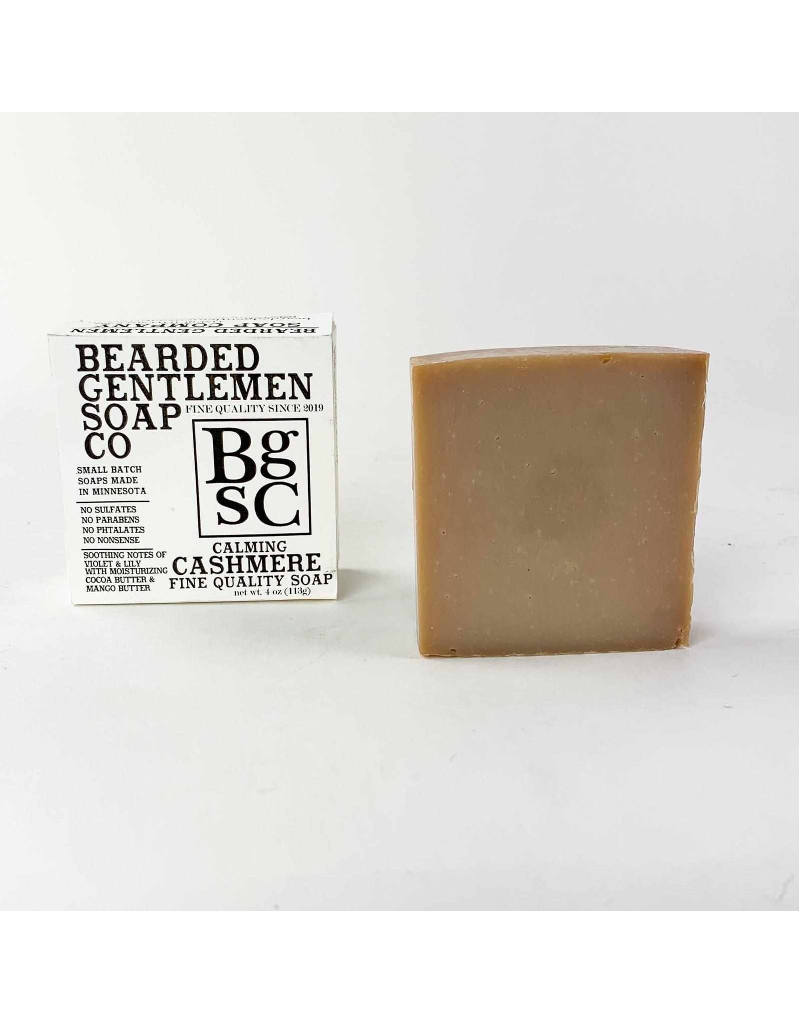 Bearded Gentlemen Soap Company Calming Cashmere Soap