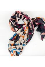 Joy Accessories Kaleidoscope scarf-black