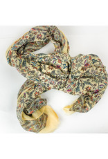 Joy Accessories Boho garden scarf-yellow