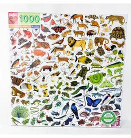 Eeboo A Rainbow World 1000pc