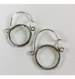 Camille Hempel Jewelry-Consignment CHE15 Classic Silver Hoops
