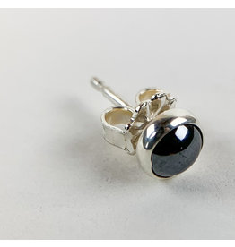 Camille Hempel Jewelry-Consignment CHSS8 Single Stud Hematite