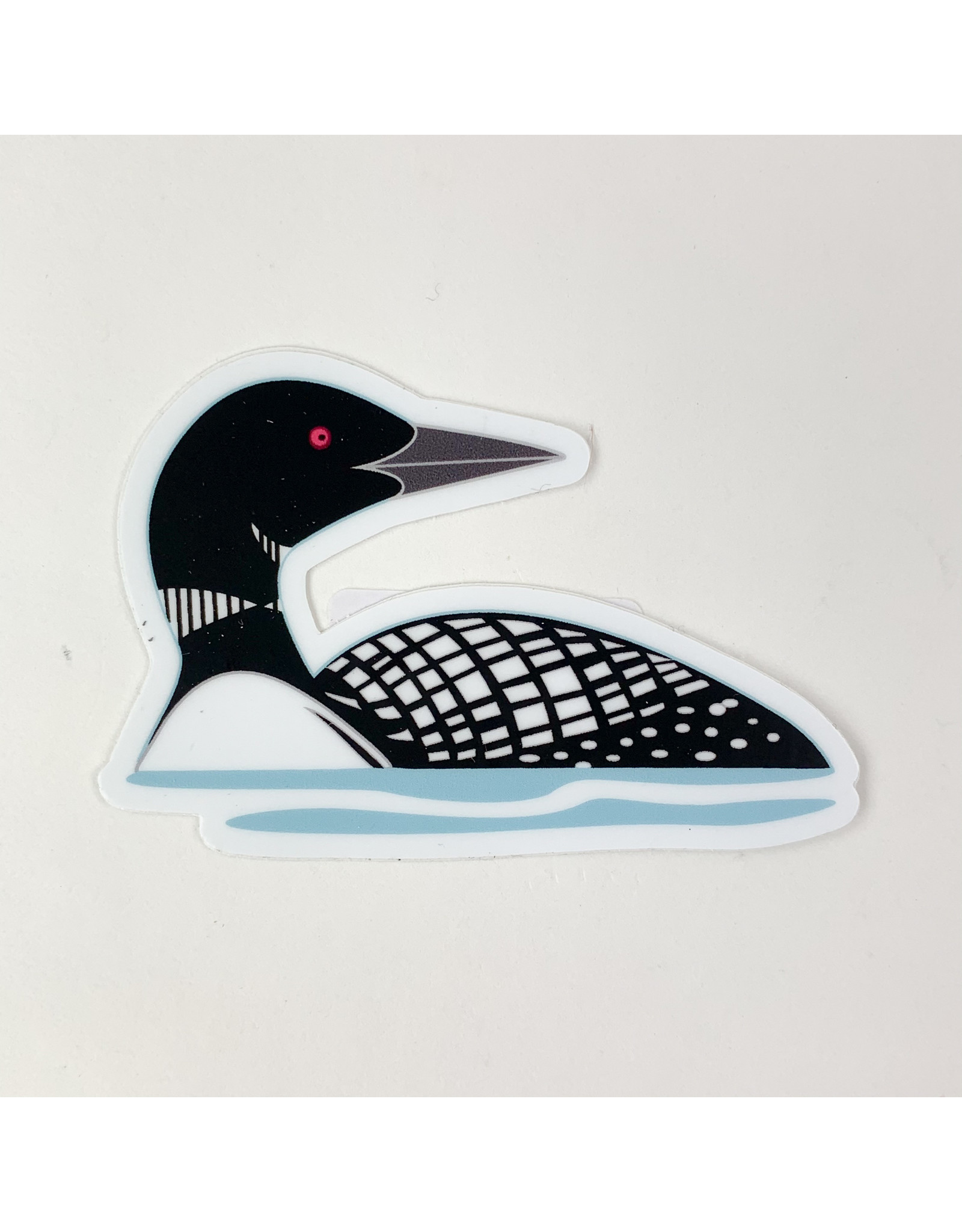 Mn. Loon - sticker