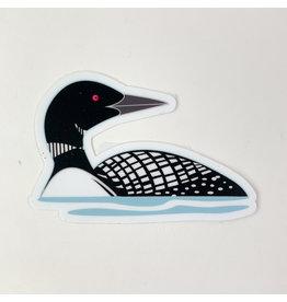 Mn. Loon - sticker
