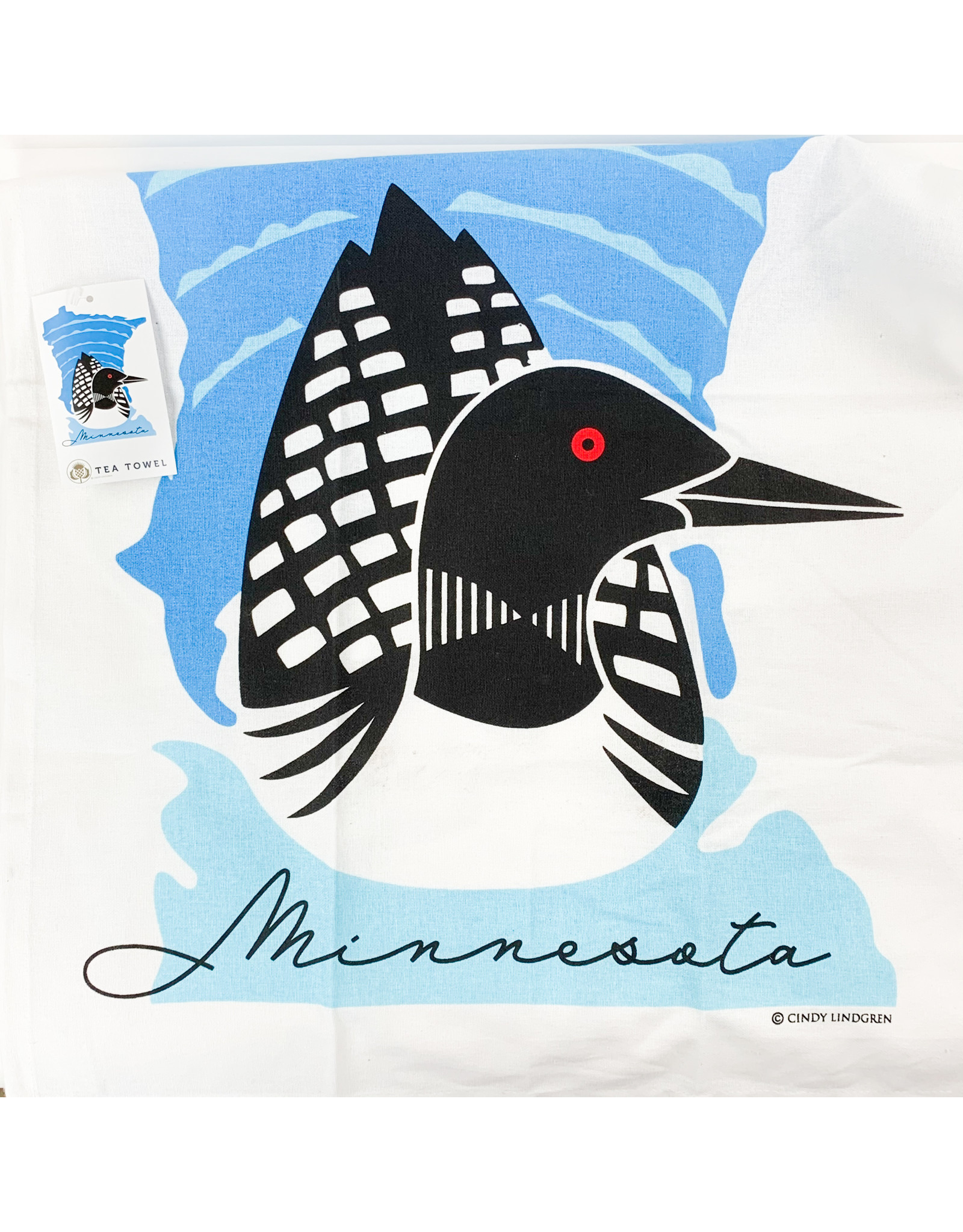 Loon -dishtowel