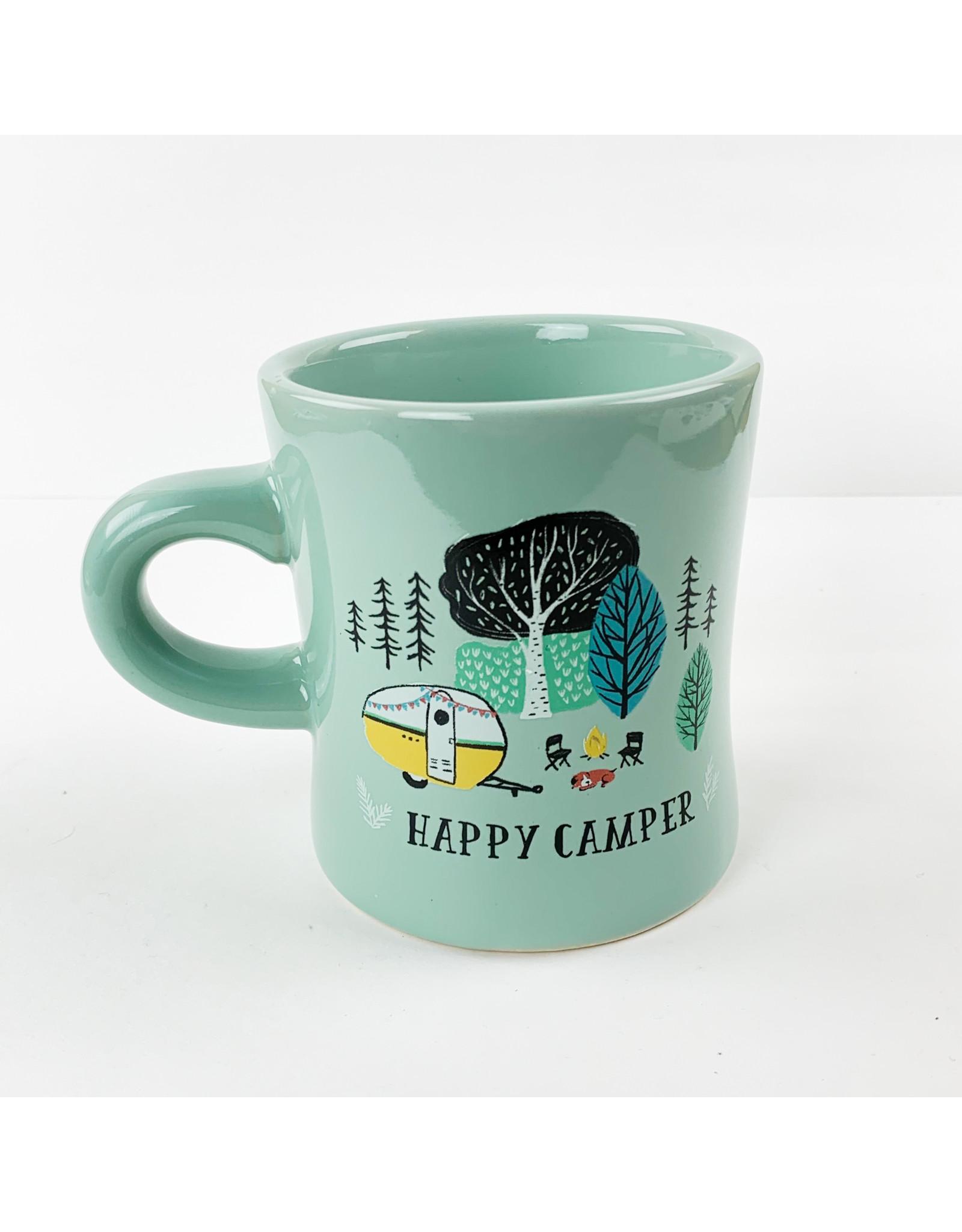 Now Designs Mug Diner Happy Camper