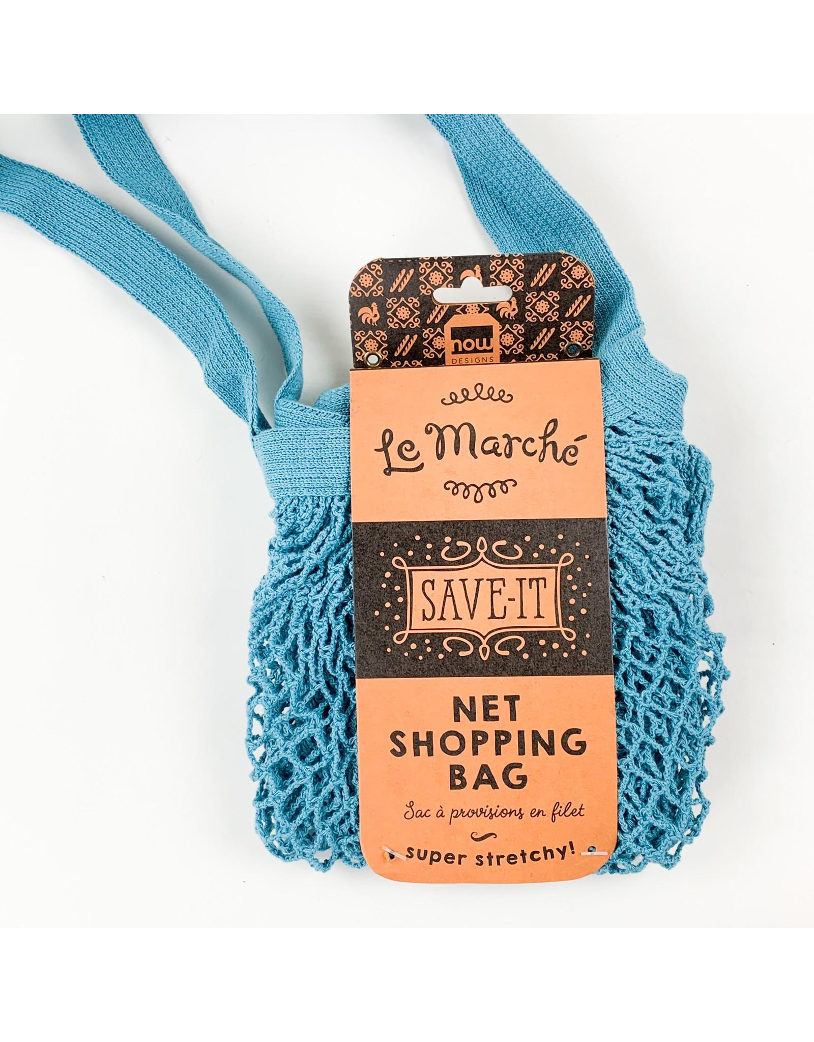 Now Designs Shopping Bag Le Marche Blue