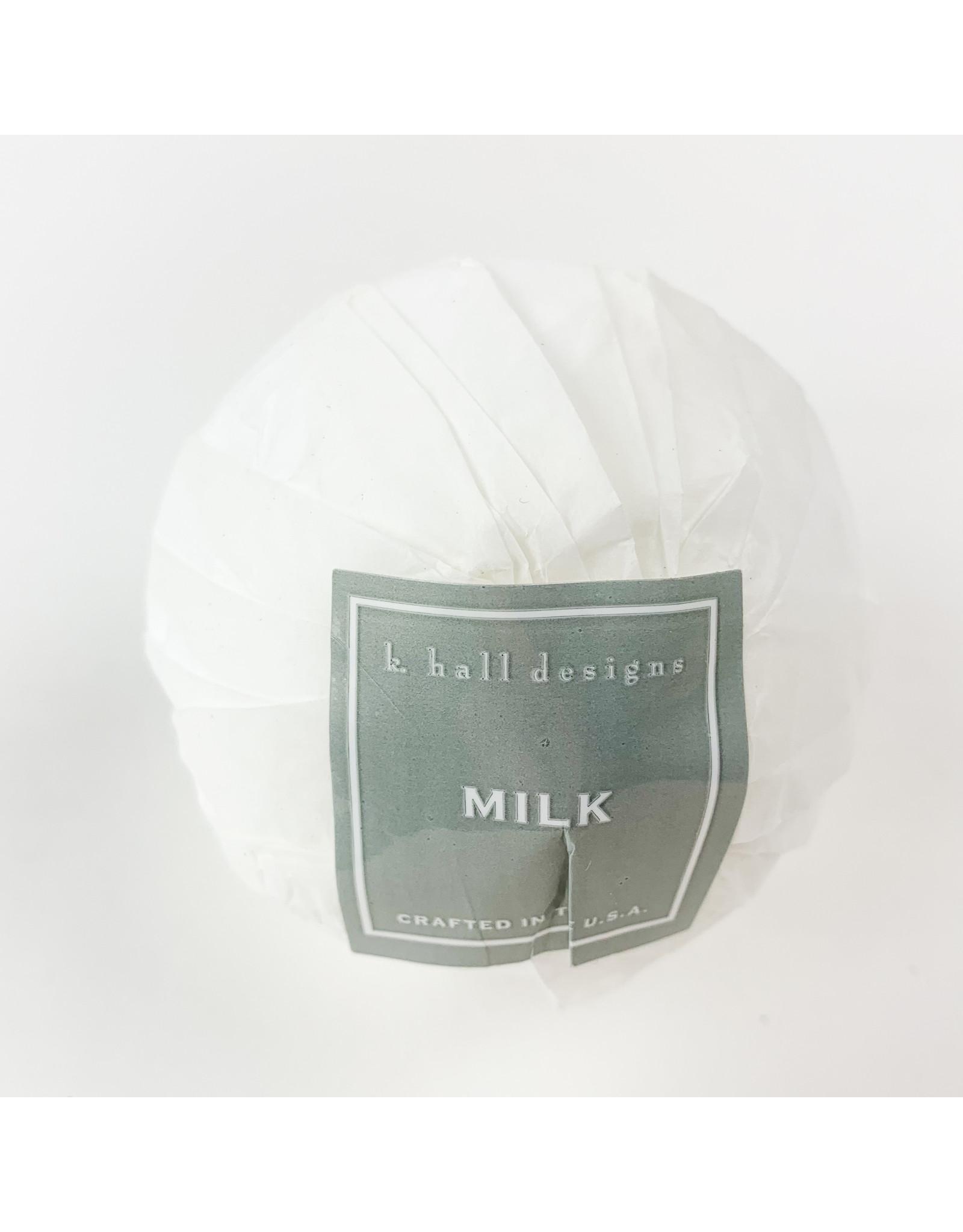 K. Hall Milk Bath Bomb