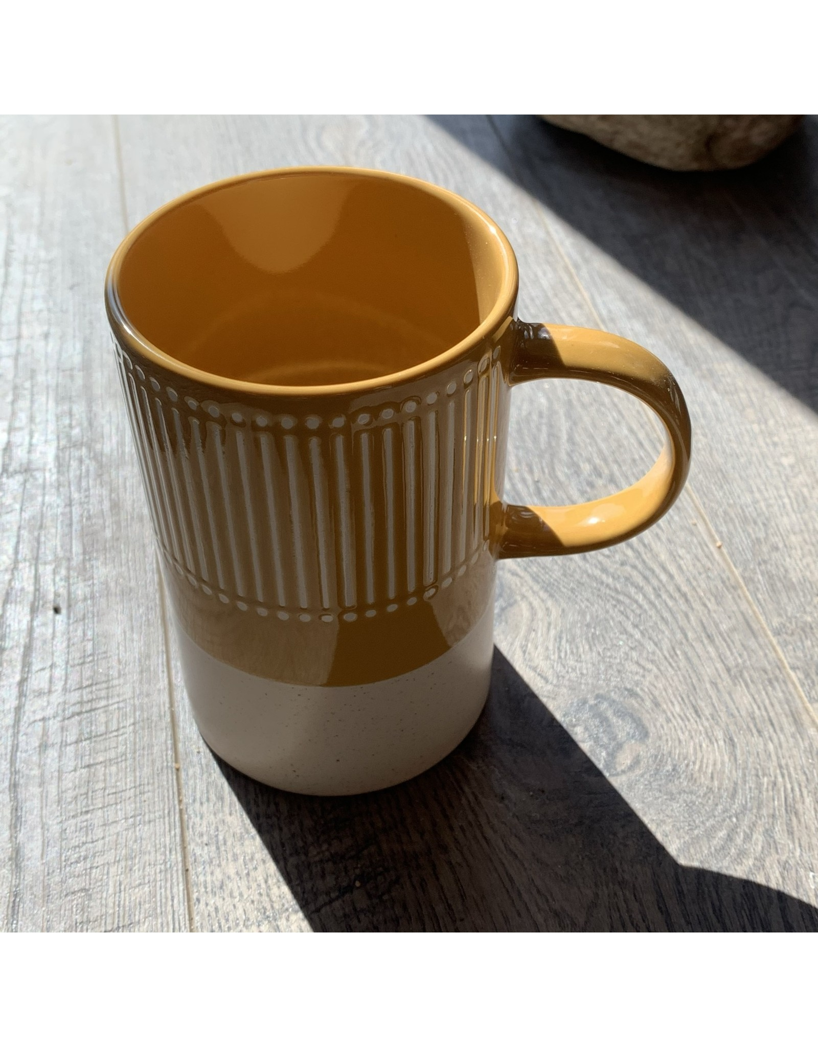 Now Designs Mug Etch Ochre